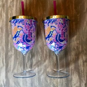Lilly Pulitzer Wine Tumblers